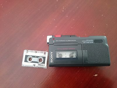 Sony M-450 Microcassette Recorder with 30 Hours of Battery Life