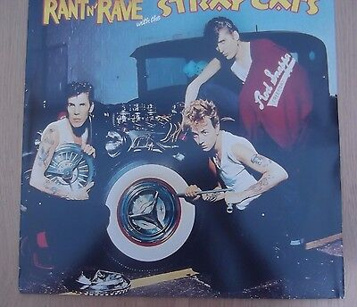 Rant n rave with the stray cats album