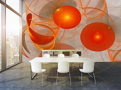 Abstract Ovals Wall Mural Photo Wallpaper GIANT DECOR Paper Poster Free Paste