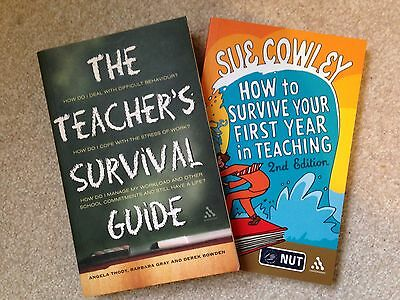 Sue Cowley How To Survive (2nd Ed.) & Teachers Survival Guide