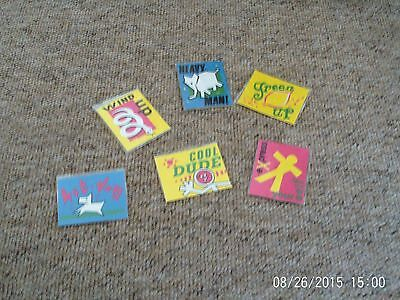 Sugar Puffs Iron On Patches.set Of 6. Cereal.