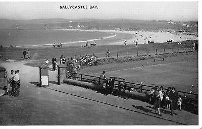 BALLYCASTLE BAY CO. ANTRIM IRELAND IRISH POSTCARD by GORDON & Co. of BELFAST