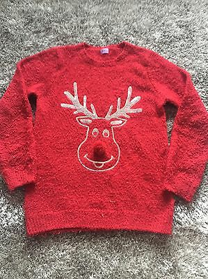 Girls Christmas Jumper Age 11-12 Years