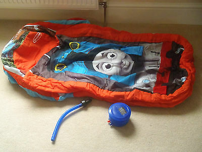 Childs My first ReadyBed Inflatable Thoams Tank Engine Nice clean condirtion