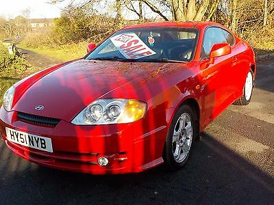 Hyundai Coupe 2.0 SE,RED,127000 MILES,FULL LEATHER