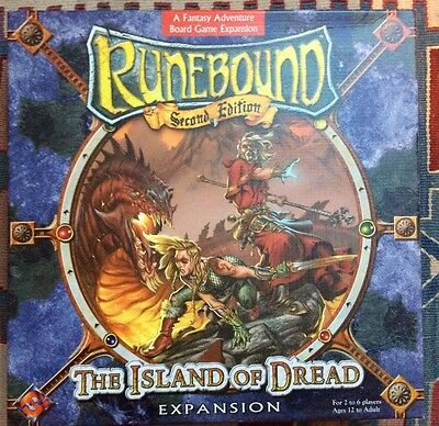 Runebound Second Edition -The Island of Dread Expansion