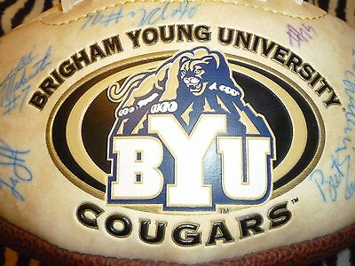 BYU 2001 Signed Football - Good Condition!!!