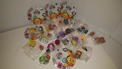 DISNEY TSUM TSUM MYSTERY STACK PACK SERIES 4 Complete Set Of 15 LOTSO SHOCK