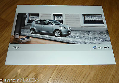 Subaru Justy Sales Brochure 2008 20 Pages Mint