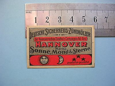 1900s Matchbox Label Germany (1)