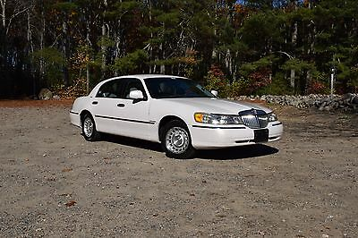 1999 Lincoln Town Car Executive 1999 lincoln town car
