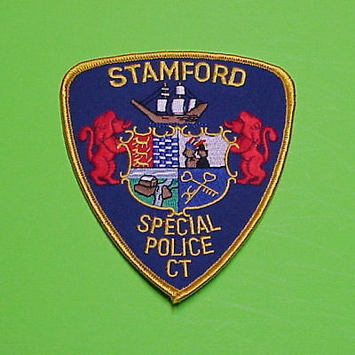 Stamford  Connecticut  Ct  Special  Police Patch   Free Shipping!!!