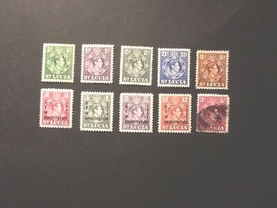 Stamps Of St Lucia