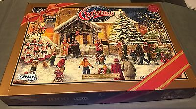 Gibsons Christmas Jigsaw Puzzle With Cert 2008 All Creatures Great & Small