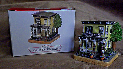 "Americana ""children's Hospital"" ~Christmas Western Village Liberty Fall"