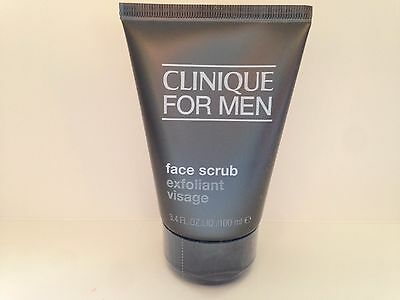 Clinique For Men Face Scrub 100Ml -  Brand New & Sealed