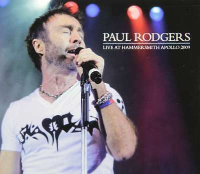 New: PAUL RODGERS (Free, Bad Company) - Live in London 2009 2-CDs