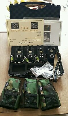 edwards custom upgrade. bite alarms. ECU. CARP FISHING.