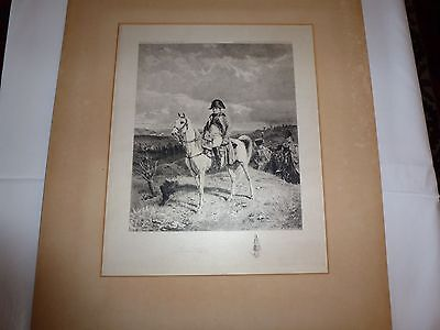 3 Vintage Prints, Napoleon, Messonier 1807