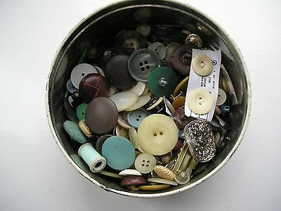 Tin of Old Buttons