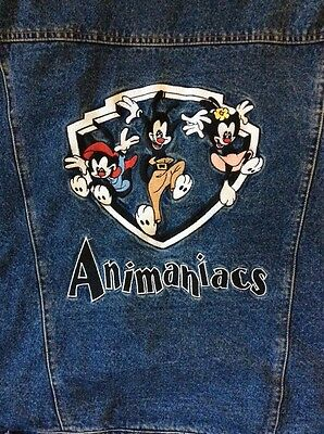 Insulated Denim Animaniacs Jacket Warner Brothers Store