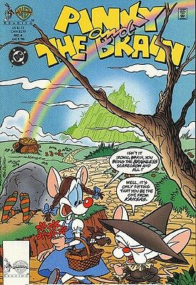Pinky and the Brain #4 DC Comics October 1996 Box3