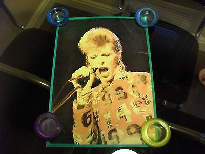 Ziggy Stardust, David Bowie, Rare and original poster