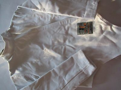 Boys Absolute Fencing Gear Cotton Zip Up Size B 32 21005
