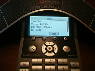 Polycom SoundStaion IP 7000 HD Conference Phone Model No: 2200-40000-001