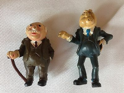 Vintage 1978 the muppet Show Stadler And Waldorf Figures RARE By HA