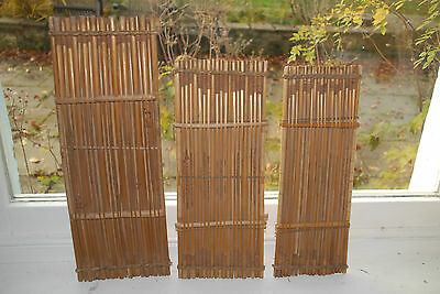 musical instruments string Africa YOMKWO raft zither x 3 Nigeria bamboo shaker