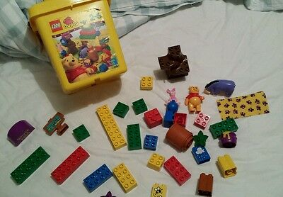 Rare Lego Duplo Bucket set 2988 Winnie the Pooh A Surprise for Eeyore 1999