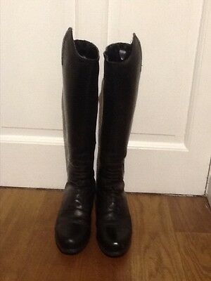 Ariat Womens Bromont Waxed Riding Boots Size 7