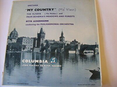 Smetana - My Country LP-The Vlatava & From Bohemia's Meadows & Forests, 33C1042