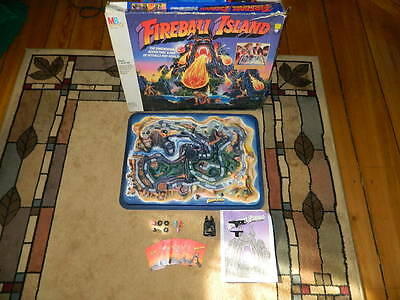 Fireball Island Game Milton Bradley Almost Complete (Few Replacement Parts)
