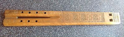 Hand Carved Double Flute