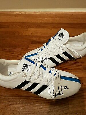 signed football boots