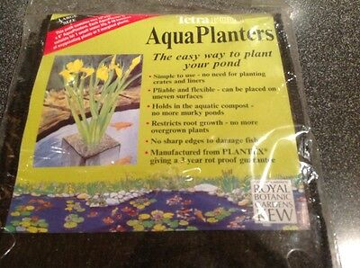 """tetra pond planting bags 10""""x10""""x8"""" pack of 2"""