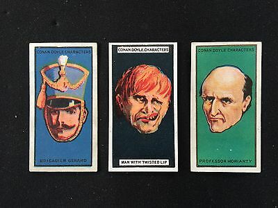 Cigarette Cards & Collectables **3 x Turf, Conan Doyle**