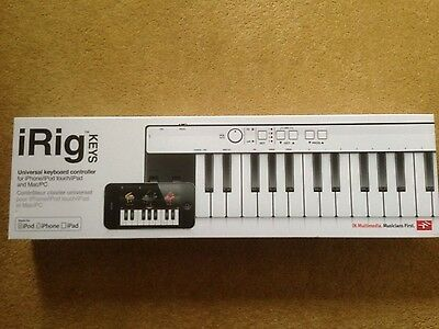 IK Multimedia iRig Keys USB Keyboard Controller