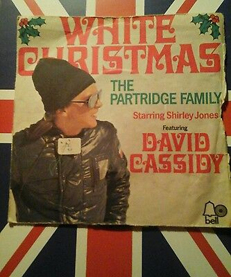 The Partridge Family-White Christmas 1972 Bell Records