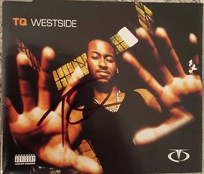 Tq Hand Signed Cd Single - Westside - Rare - Autographed