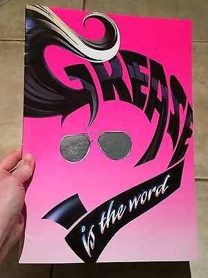 GREASE Souvenir Brochure West End Musical Published '96 MANCHESTER Shane Ritchie