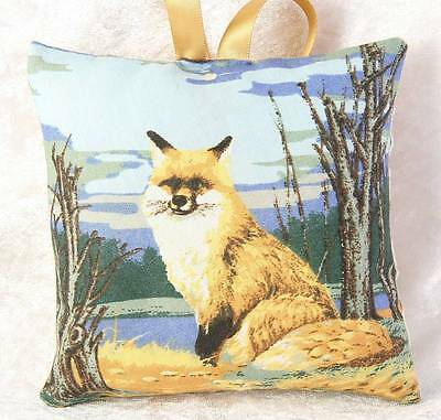 Mini Scented Cushion featuring fox charlie  any occasion gift design 3