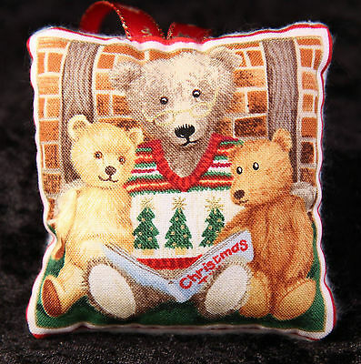 Mini Scented Cushion featuring brown bear Teddy  any ocassion gift design 28