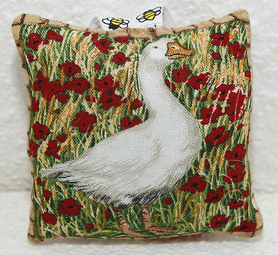 Mini Scented Cushion featuring goose geese farmyard bird  any ocassion gift