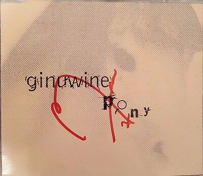 Ginuwine Hand Signed Cd Single - Pony - Rare - Autographed