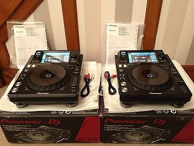 Pioneer Xdj 1000 (Pair)- Only 2 Month Old!