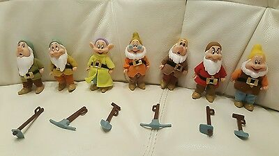 "Disney Seven Dwarfs 5"" Figures From Snow White"