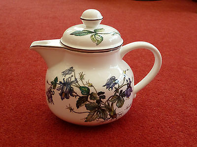 Villeroy and Boch Botanica Aquilegia vulgaris Teapot with Lid